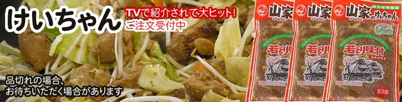 けいちゃん テレビで注目 飛騨のご当地グルメ 鶏ちゃん たっぷり野菜といためて バーベキューに