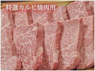 飛騨牛焼肉用特選カルビ