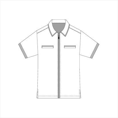 ジッパーシャツ