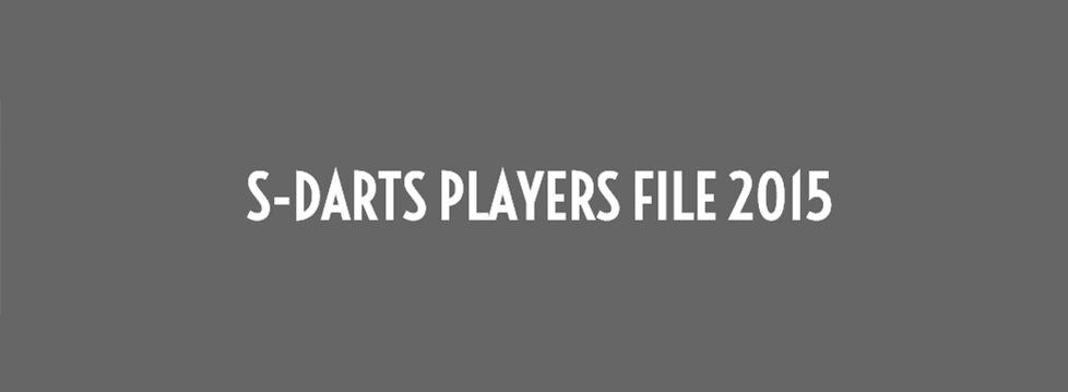 S-DARTS PLAYERS 2015