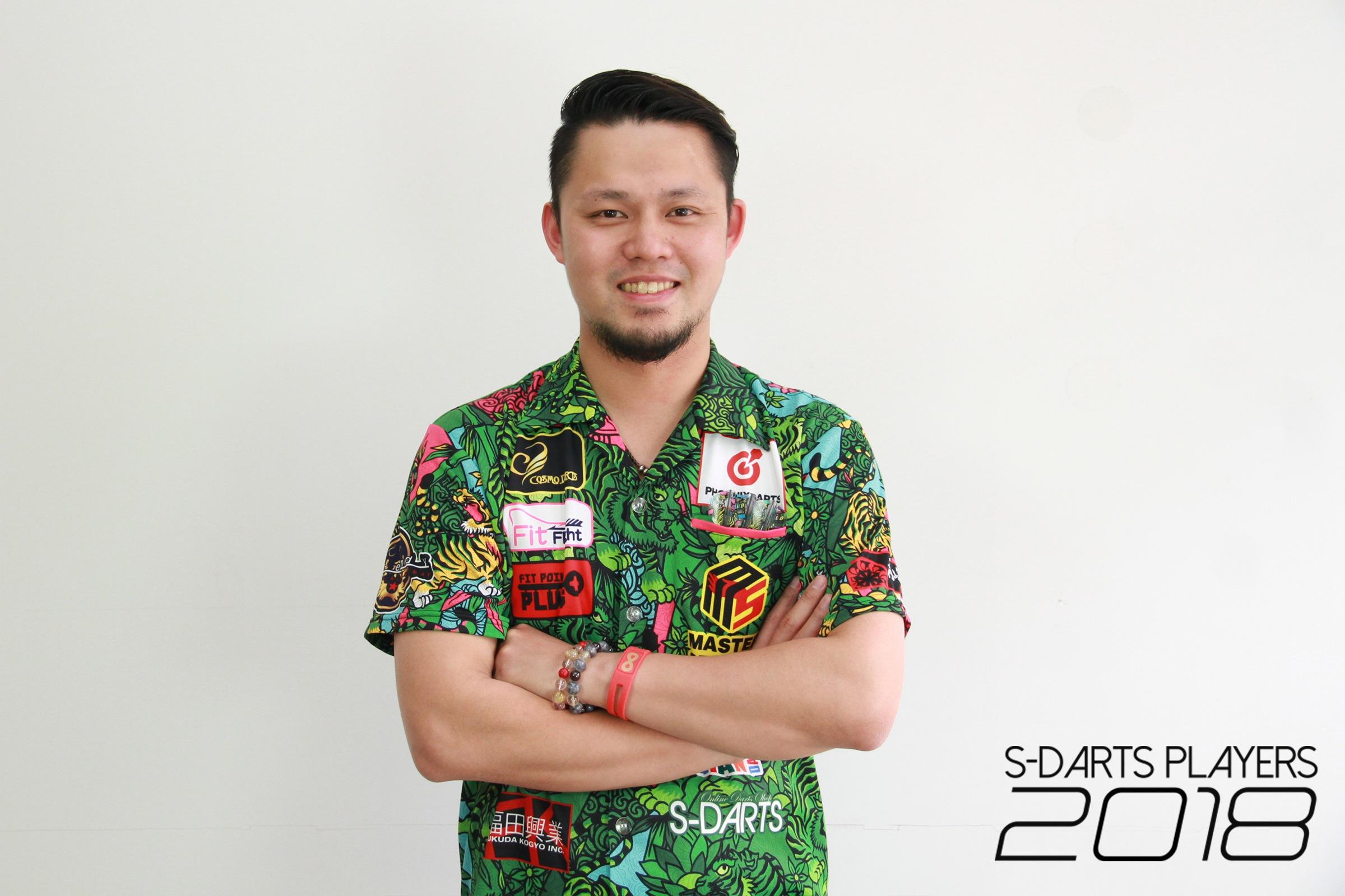 S-DARTS PLAYERS 2018│松本 康寿