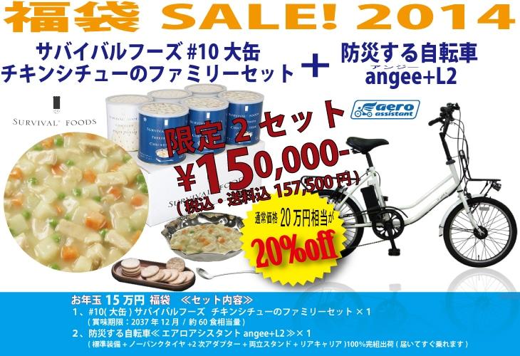 新春!お年玉企画2013 福袋セール(数量限定)