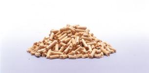 ペレットのサイズ:燃焼効率の良い6ミリサイズ
