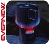 エバニュー(EVERNEW)チタンアルコールストーブ + チタンポット500(RED)セット|火を備える 第2弾