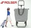 ロルサー(ROLSER)は、災害時の荷物運搬に役立つ欧州発のキャリーカート( 24通りの組み合わせができ、普段のお買い物にも!)