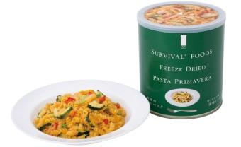 25年備蓄食(非常食)野菜のクリームパスタ