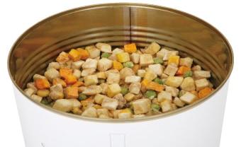 サバイバルフーズ・野菜シチューの調理イメージ
