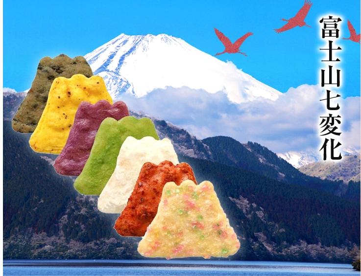 富士山七変化画像