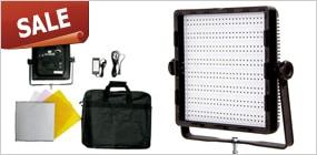 大光量 LED600個 スタジオ用ライト CN-600SD