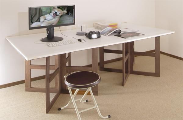 テーブルに作業台に!組み立て式撮影台