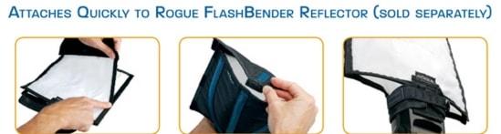 ROGUE Flash Bender2 S用 ディフューズパネル S