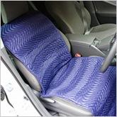 車のシートに取り付けて移動中もナノSEVカラダサポート