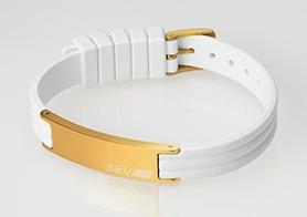 SEVラインブレスレット2 ホワイト