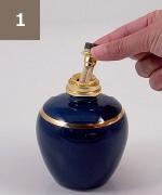 アシュレイ&バーウッド フレグランスランプ使用方法1