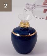 アシュレイ&バーウッド フレグランスランプ使用方法2