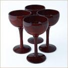 ワインカップ4個セット(霞根来-茜)