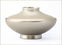 銀彩富士型椀