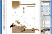 1.Adobe illustratorにてデータ作製