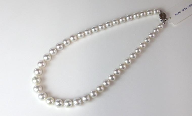南洋白蝶真珠ネックレス