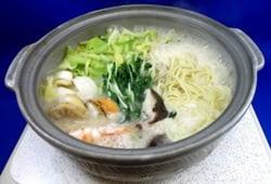 海鮮ちゃんぽん鍋