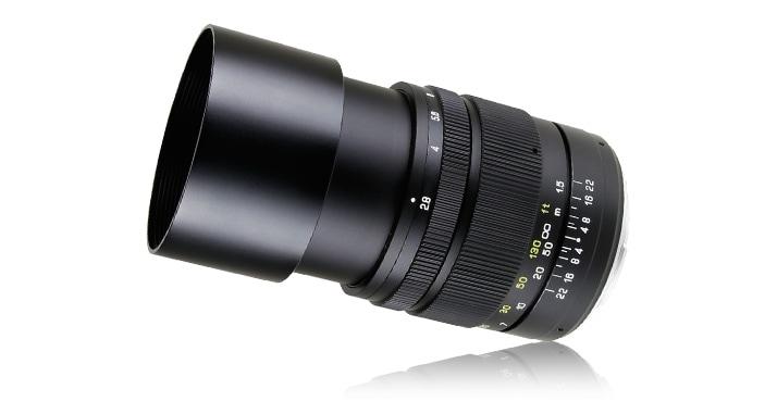 CREATOR 135mm F2.8 II 単焦点レンズ外観
