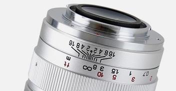 SPEEDMASTER 35mm F0.95 II シルバー絞りリング