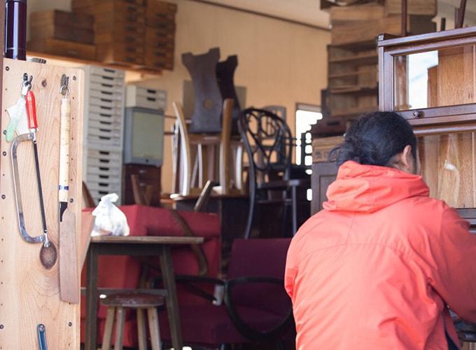家具の再生