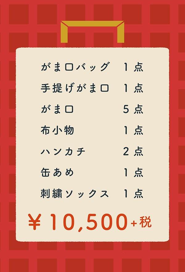 福袋¥10,500+税