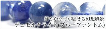 鮮やかな青が魅せる幻想風景 デュモルチライト(ブルーファントム)