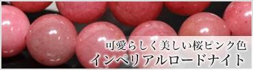 可愛らしく美しい桜ピンク色 インペリアルロードナイト