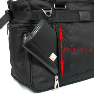 パスファインダー ビジネストートバッグ PF3808B バックポケット