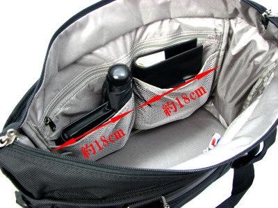パスファインダー ビジネストートバッグ PF3808B 内装 各種ポケット