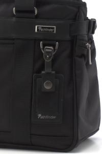 パスファインダー ビジネストートバッグ PF3808B ネームタグ装着例