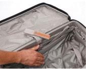 パスファインダー スーツケース 拡張前