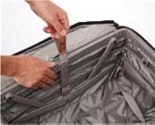 パスファインダー スーツケース 拡張時