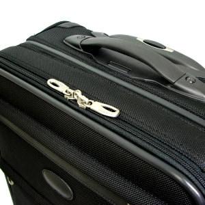 パスファインダー スーツケース PF3819DAX-ブラック(黒) ジッパー画像