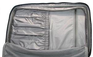 パスファインダー スーツケース 内装ポケット