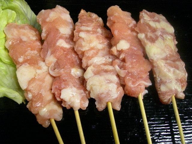 国産 若鶏の首肉串 30g