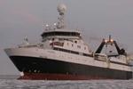 Aker社のトロール加工漁船
