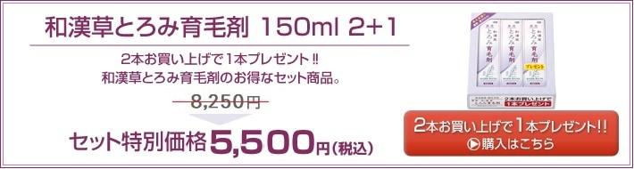 和漢草とろみ育毛剤 150ml