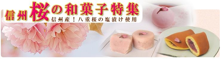 桜和菓子特集