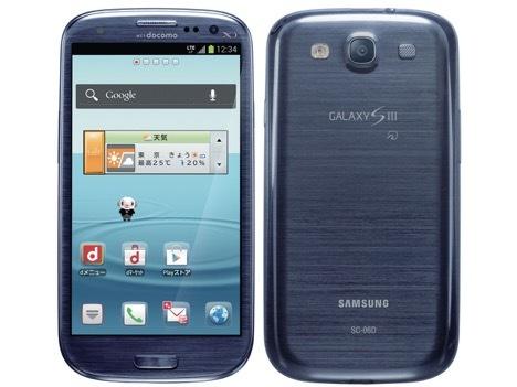 Galaxy S3/S3α(SC-06D/03E)