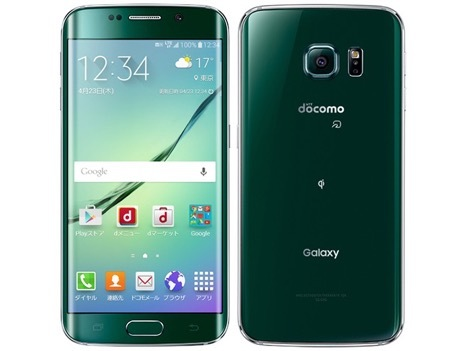 Galaxy S6 edge(SC-04G・SCV31)