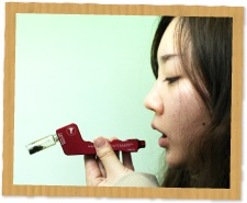 ヴェポライザーの吸い方