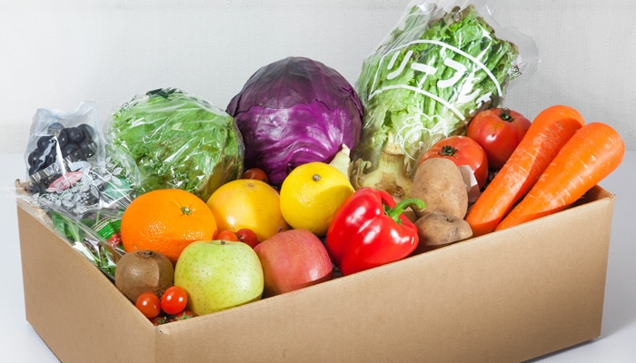 おまかせ野菜&果物(ハーフ&ハーフ)