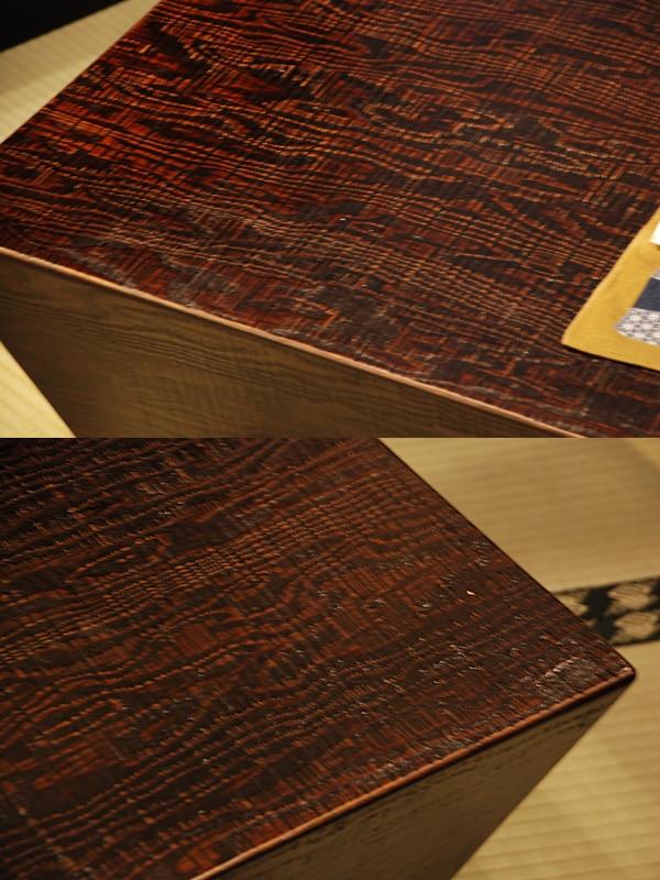 ノコ目のテーブル
