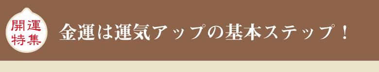開運アイテム | 金運アップ特集のご紹介