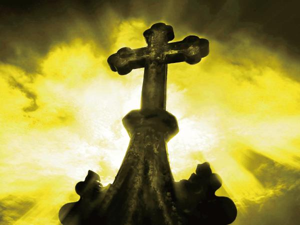 幸運のクロスクローバーペンダントの説明〜クロス(十字架)