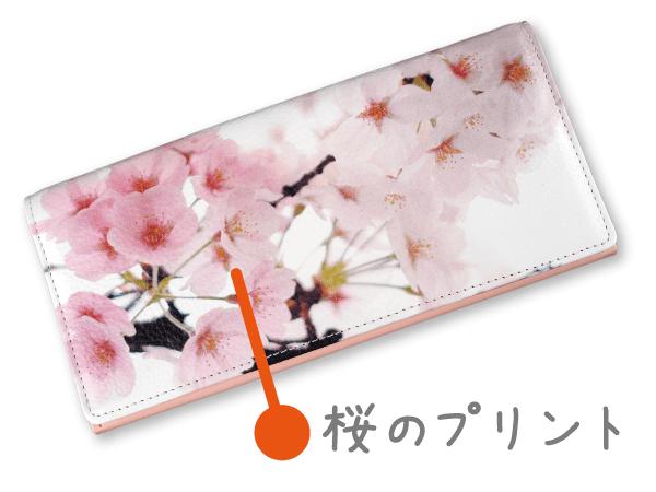 桜咲く春財布の説明〜『桜咲く春財布』