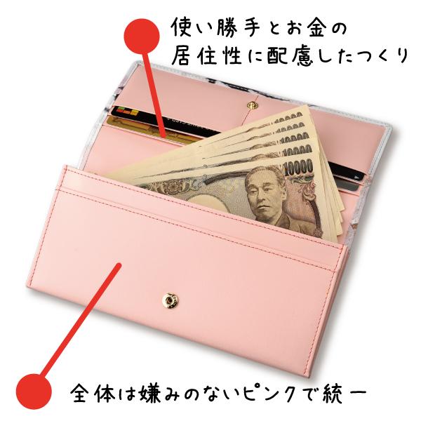 桜咲く春財布の説明〜